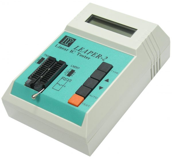 linear analog ic tester